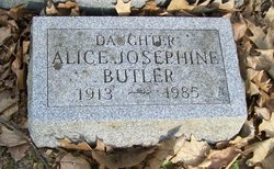 Alice Josephine <I>Hatch</I> Butler