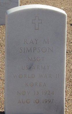 Ray M Simpson