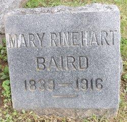 Mary A <I>Rinehart</I> Baird
