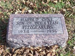 Harold Gene Fitzgeralds