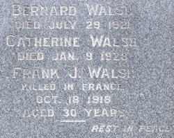 Pvt Frank J. Walsh