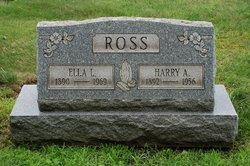 Harry Alvin Ross, Sr