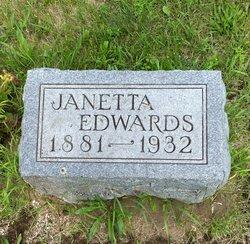 Janette <I>Rosser</I> Edwards