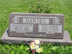 """Harriett Kathryn """"Kate"""" <I>Middleton</I> Daniel"""