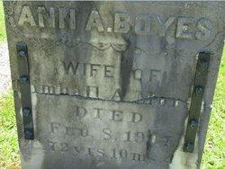 Ann Augusta <I>Boyes</I> Morse