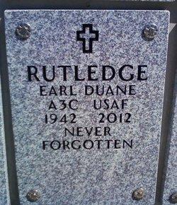 Earl Duane Rutledge