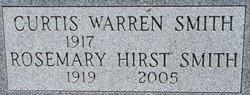 Rosemary <I>Hirst</I> Smith