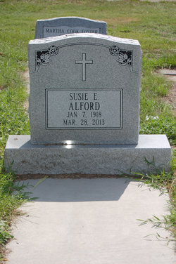 Susie Elizabeth <I>Brooks</I> Alford