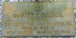 2LT Dewitt Talmadge Bell Jr.