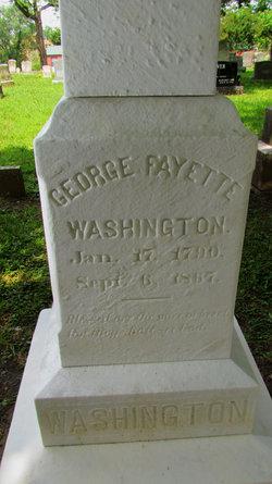 George Fayette Washington