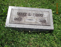 Mary Elizabeth <I>McMillen</I> Forry