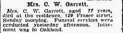 Caroline N. Garrett