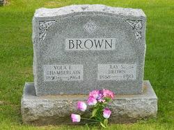 Vola E. <I>Chamberlain</I> Brown