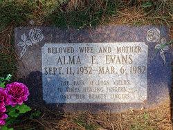 Alma Emma <I>Behling</I> Evans