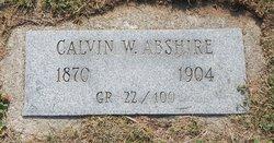 Calvin W Abshire