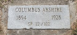 Columbus Abshire