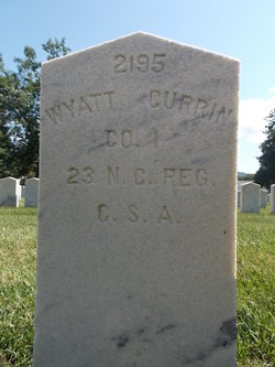 Pvt Wyatt Currin