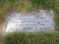 """Anthony Edward """"Tony"""" Harding"""