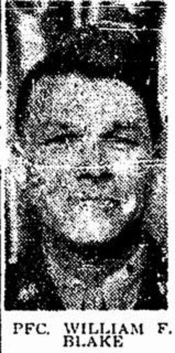 PFC William F. Blake