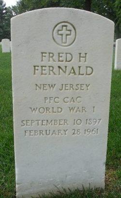 Fred H Fernald