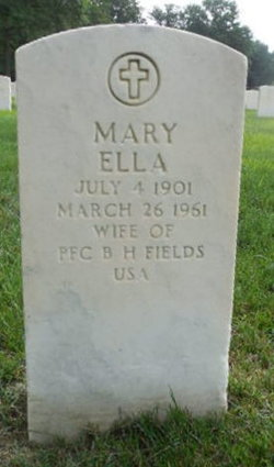 Mary Ella Fields