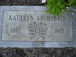 Kathryn Archibald