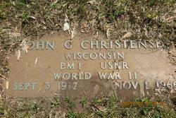 John Gordon Christensen
