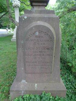 Lucy <I>Burgess</I> Stickney
