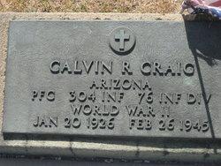 PFC Calvin R Craig