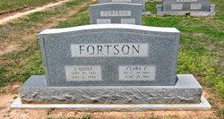 Clara <I>Carlton</I> Fortson