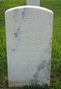 Harold Raymond Diamond
