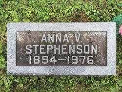 Anna V. <I>Dahlberg</I> Stephenson