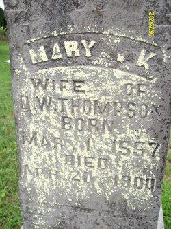 Mary Catherine <I>Roberts</I> Thompson