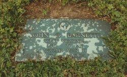 PFC John Otis Barnette