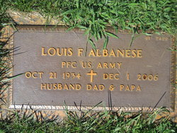 Louis F Albanese