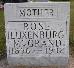 Rose L. <I>Luxenburg</I> McGrand
