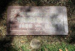 Virginia Mae <I>Johnston</I> Davis