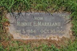 Minnie Ellen <I>Brassfield</I> Markland