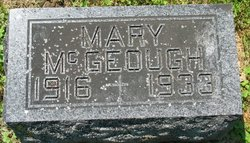 Mary McGeough
