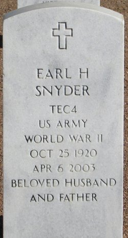 Earl Hall Snyder
