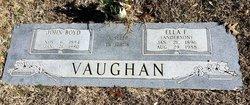 Ella F. <I>Anderson</I> Vaughan