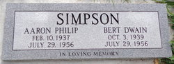 "Bert Dewayne ""Wayne"" Simpson"