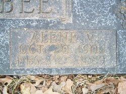 Alene V. <I>Lawrence</I> Frisbee