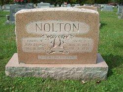 Annie Elizabeth <I>Tolbert</I> Nolton