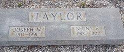 Joseph William Taylor