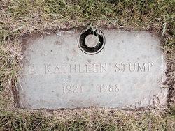 Kathleen E Stump