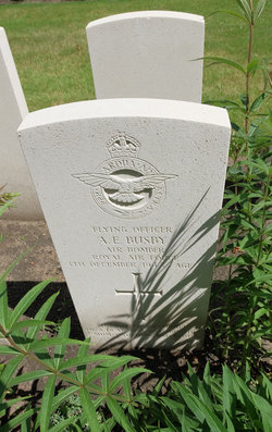 Flying Officer ( Air Bomber ) Arthur Edward Busby