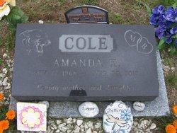 Amanda <I>Cole</I> Cleary