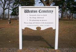Old Weston Cemetery