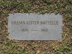 Lillian Lister Battelle